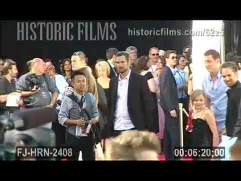 GUILLERMO DEL TORO AT HELLBOY II: THE GOLDEN ARMY PREMIERE