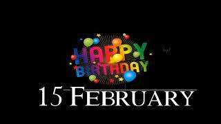 15 February Birthday Status / Birthday Status 15 February