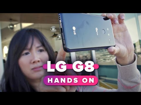 LG G8 hands-on
