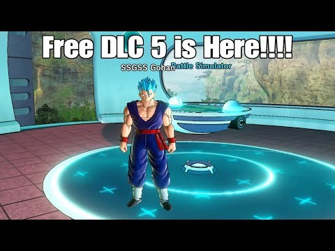 Dragon ball Xenoverse 2 Free DLC 5 Is Here! The Hype Is Real!