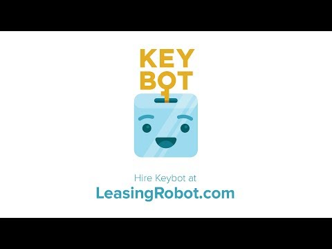 Keybot, the property leasing robot.