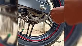 Pemasangan variasi as roda dan jalu arem d vixion