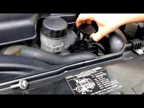 How to check or add power steering fluid on a Mercedes-Benz