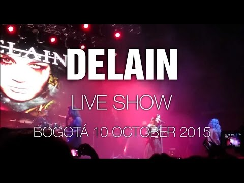 Delain [Reupload] @ Bogotá 10 Oct 2015