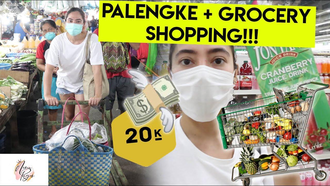 PALENGKE AT GROCERY SHOPPING + HAUL! 20K WORTH! (MGA NEW DISCOVERY KO SA SUPERMARKET) | Nina Rayos 💋