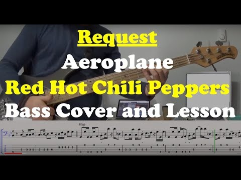 Aeroplane - Bass Cover and Lesson - Request