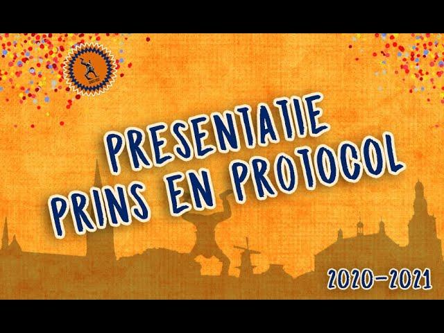 PRESENTATIE PRINS EN PROTOCOL