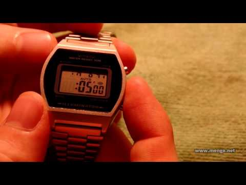 Casio B640WD-1A watch review and demo