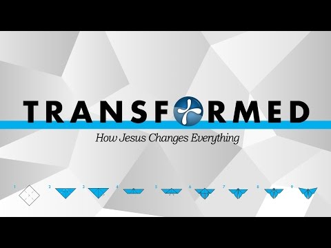 """TRANSFORMED: """"HOW JESUS CHANGES EVERYTHING"""" STRESSING LESS"""