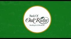 Interactive Teller Machines from Bank of Oak Ridge