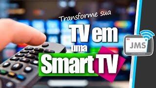 Como Transformar uma tv em Smart tv - PASSO A PASSO - TV BOX