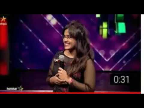 super singer rakshitha sema performance nan mutham thinbaval song