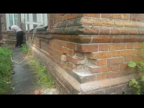 видео: Реставрация фасада дома до революционной постройки.