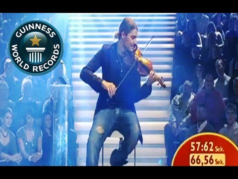 Fastest Violin Player - Schnellster Geigenspieler - Guinness World Record