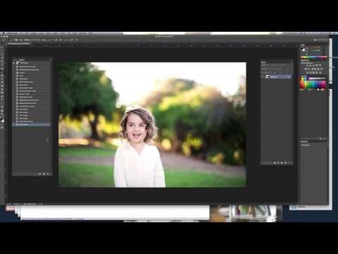 How To Use The Clean & Simple Collection By Wide Perspective Photoshop Actions