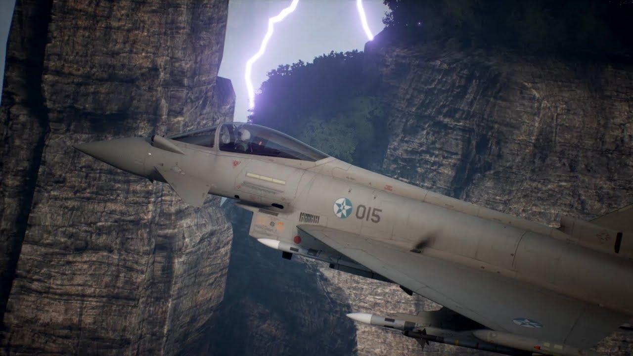 Ace Combat 7: Skies Unknown 'Typhoon' trailer - Gematsu