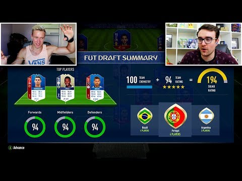 HIGHEST Rated WORLD CUP FUT Draft Vs ANDROS? - FIFA 18 WORLD CUP