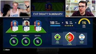 HIGHEST Rated WORLD CUP FUT Draft Vs ANDROS?! - FIFA 18 WORLD CUP