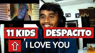 Download Video Despacito Cover by GENHALILINTAR Mom&11kids (ALL AGES LYRICS) REACTION!! 🔥 MP3 3GP MP4