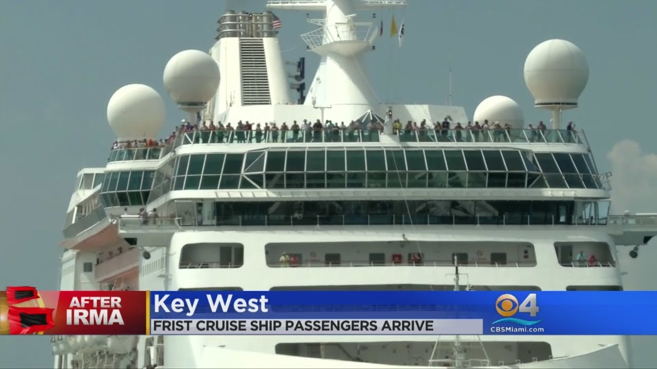 First Cruise Ship Passengers Arrive To Key West YouTube - Cruise ship key west