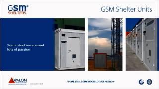 OPALON préfabriqués Container acier ABRIS Structure de GSM