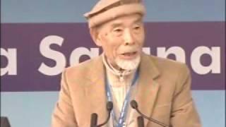 Ahmadiyya : Japanese Ahmadi Brother at Jalsa Qadian 2009 Day 2 Morning