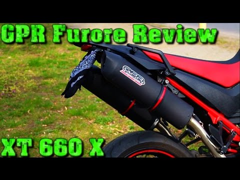 gpr furore review yamaha xt 660 x soundcheck flyby. Black Bedroom Furniture Sets. Home Design Ideas