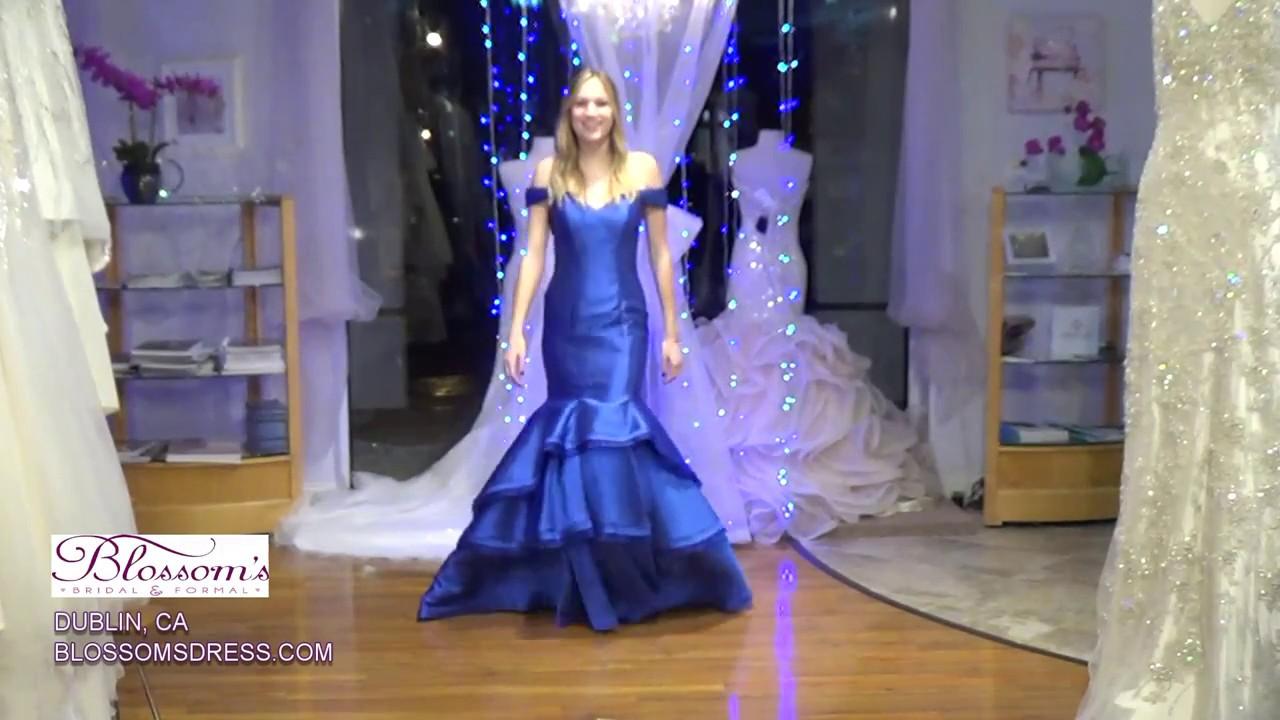 8239d71c09a Blossoms Prom Dress- Jovani 31100A - YouTube