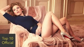 Top10 Sexiest Actresses in the World
