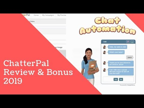 ChatterPal Review 2019 & Bonus - chatterpal review - chatter pal review chatterpal bonus chatterpal. http://bit.ly/30Hw13Y