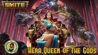 SMITE - Hera, Queen of the Gods | Card Animation