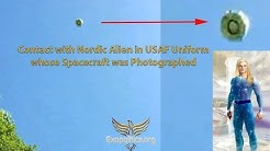 Contact with Nordic Alien in USAF Uniform whose Spacecraft was Photographed