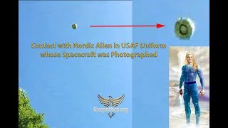 Contact with Nordic Alien in USAF Uniform whose Spacecraft was Photographed Mp3