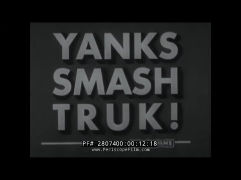 AMERICAN ASSAULT ON JAPANESE NAVAL BASE AT TRUK  28704