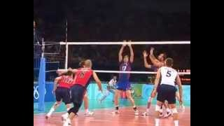 Volley Ball Passing – Overhand Reception / Riley Salmon (usa)
