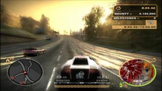 【NFSMW】Need For Speed Most Wanted 2005 Halloween Challenge Pursuit 2016