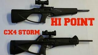 Hi Point carbine VS Beretta CX4 Storm.  Shoot off!!!