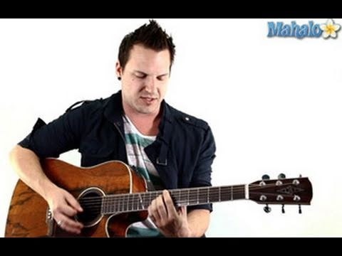 How To Play I Dont Want To Be By Gavin Degraw On Guitar Youtube