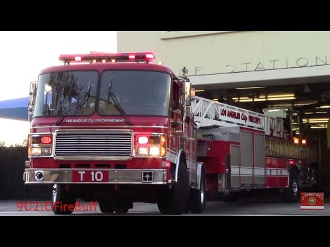LAFD Station 10 Response Compilation