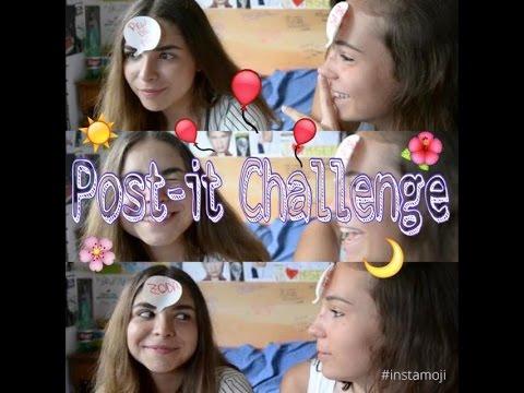 Post It Challenge Camilla Gaeta Youtube