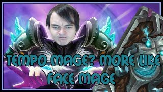Tempo mage? more like FACE MAGE | The Witchwood | Hearthstone