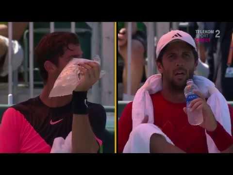 26 03 2018 Fernando Verdasco vs Thanasi Kokkinakis -finalul spectaculos al meciului! 3-6 6-4 7-6
