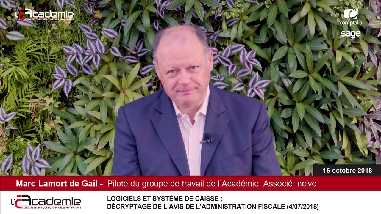 Entretiens de l'Académie : Marc Lamort de Gail