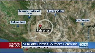7.1 Southern California Quake Felt In Northern California