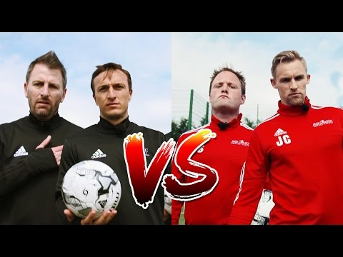 Mark Noble & Fenners vs Tubes & Jack Collison | Volley Challenge