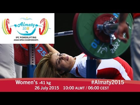 Women's -41 kg | 2015 IPC Powerlifting Asian Open Championships, Almaty