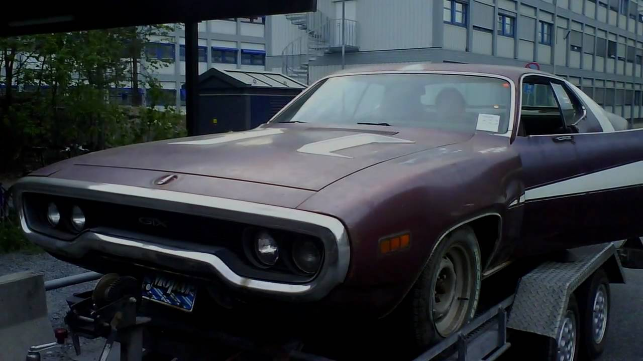 Gtx 1971 Plymouth 440 Muscle Car Youtube