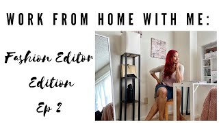 Fashion Editor Life Vlog: Work day|Unboxings|Editorial Planning