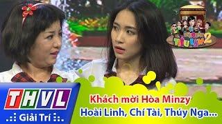 THVL | Hội Quán Tiếu Lâm Mùa 2 - Tập 12: Khách mời Hòa Minzy - Hoài Linh, Chí Tài, Hứa Minh Đạt