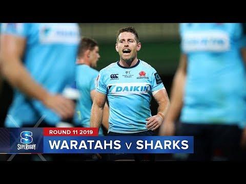 Waratahs v Sharks | Super Rugby 2019 Rd 11 Highlights